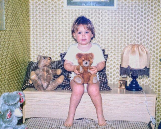 Ich und Teddybär_lzn